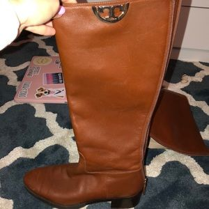 Tory burch ridding boots